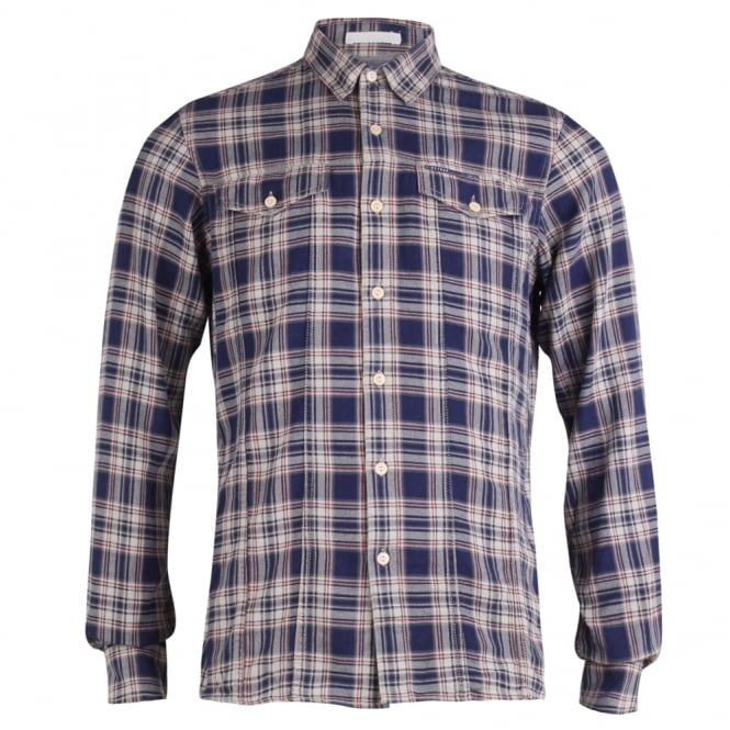 Firetrap Long-Sleeved Miner Classic Check Shirt