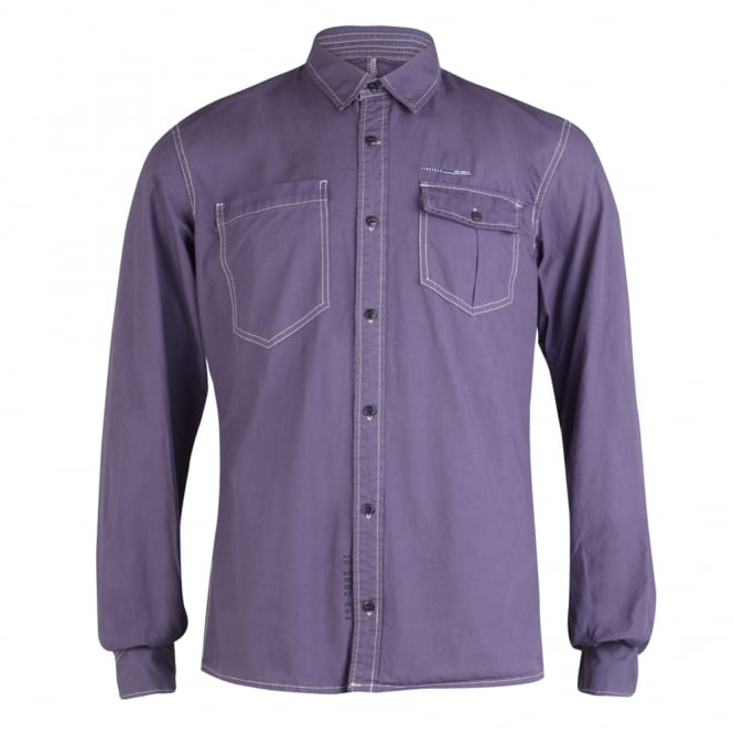 Firetrap Long-Sleeved Worker Shirt