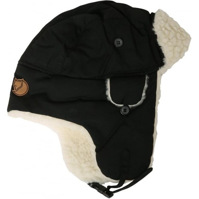 Fjallraven G-1000 Heater Hat, Black
