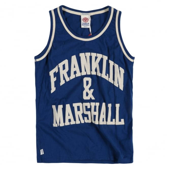 Franklin & Marshall Franklin Marshall Logo Vest Top