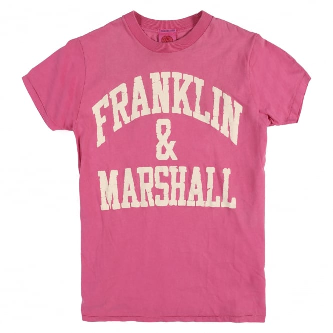 Franklin & Marshall Vintage Printed Logo T Shirt