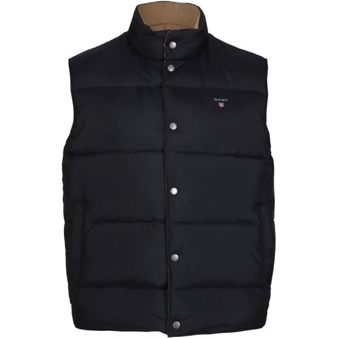 Gant Down Filled Reversible Vest