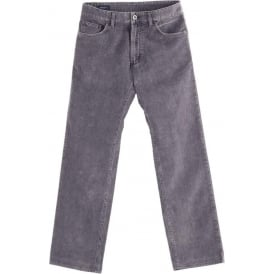 Jason Stone Washed 5-Pocket Corduroy Jean