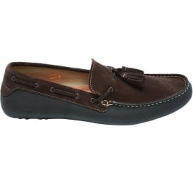 Florio Driving Loafer, Brown
