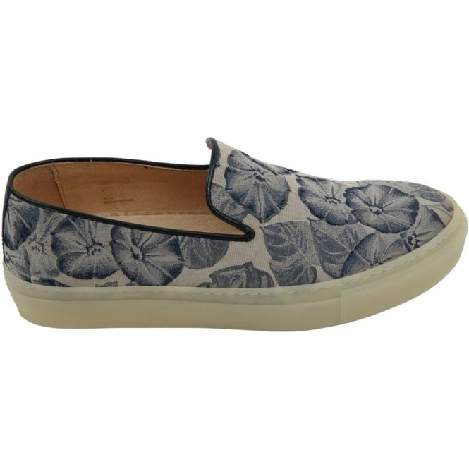 H By Hudson Woman Annuk Sneaker Blue Fabric