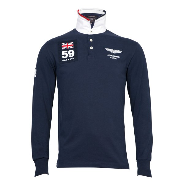 Buy Aston MArtin Racing 59 Patch Rugby Top