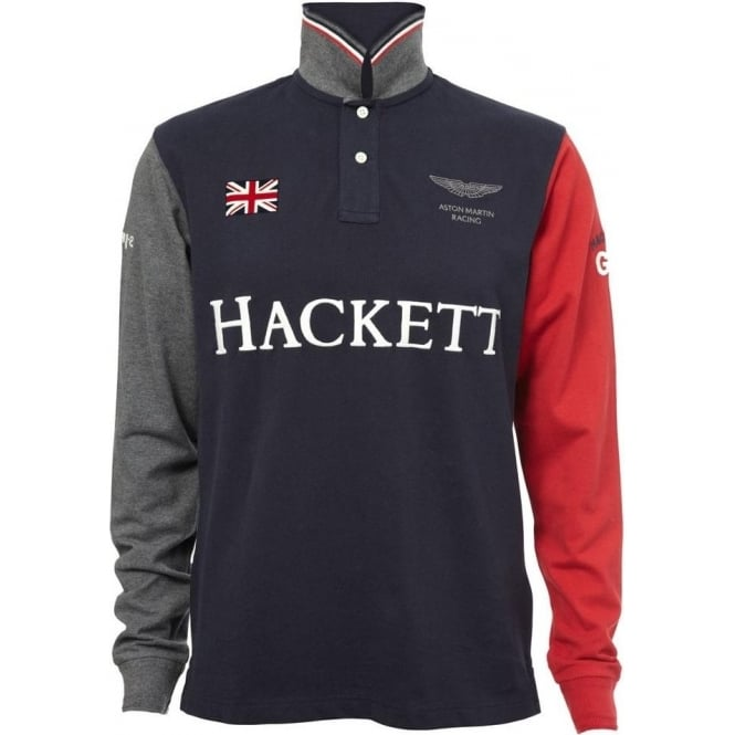 Buy Hackett Aston Martin Polo Shirt Navy Hackett Fussy Nation - Aston martin shirt