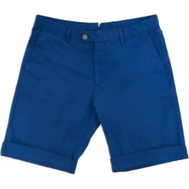 Chino Short, Summer Blue