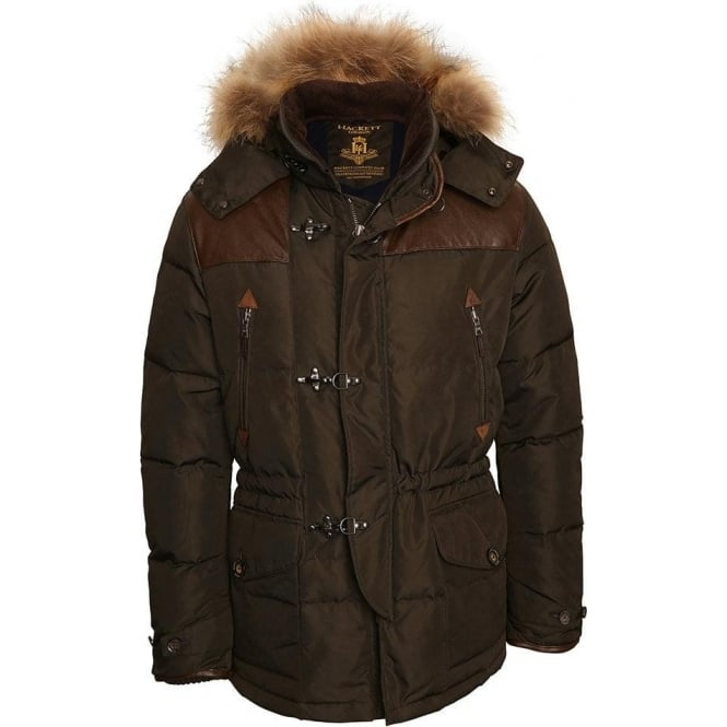 Buy Hackett Fur Fireclip Parka Hackett Fussynation Com