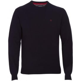 Lambswool Crew Neck (Navy)