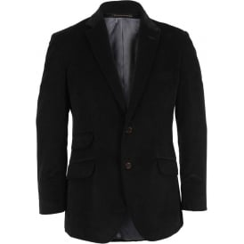 Needlecord Blazer, Navy