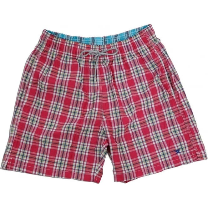 Hackett Summer Check Swim Short