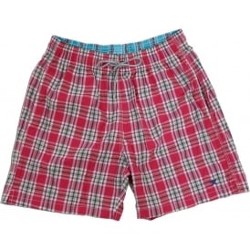 Summer Check Swim Short