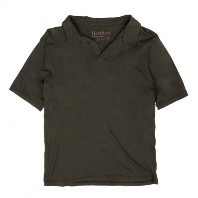 Hartford Cotton Polo, Grey