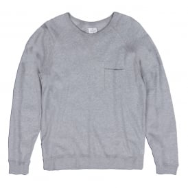 Light Crew Neck, Grey
