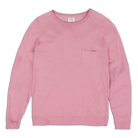 Light Crew Neck, Pink