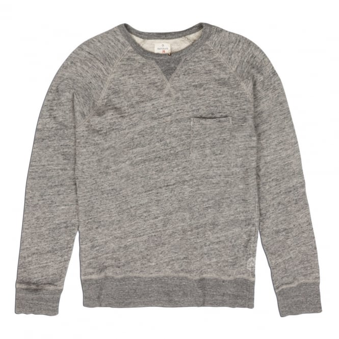 Hartford Pocket Sweat Top, Grey