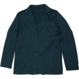 Unstructured Summer Blazer, Blue