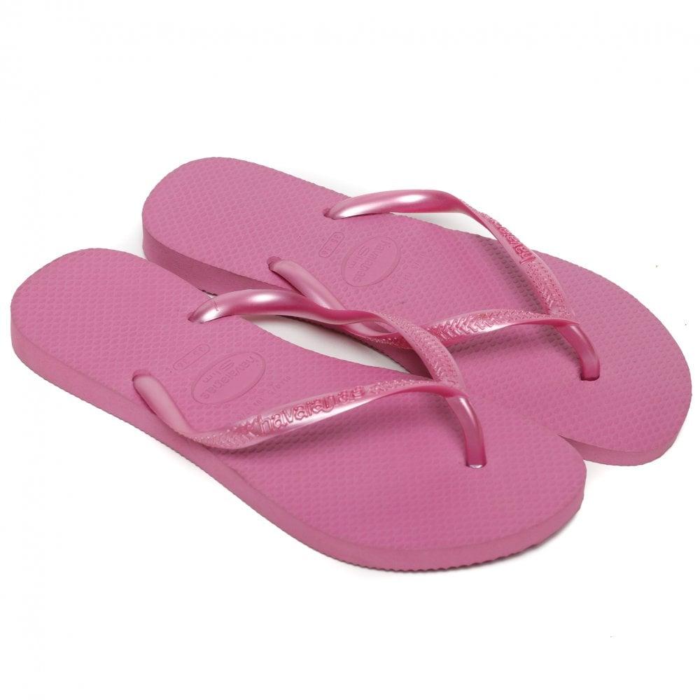07ac3313cb920e Havaianas Women s Ice Pink Slim Fit Flip Flops