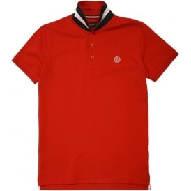 Cowes Club Regular Polo, Red