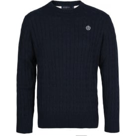 Fairfax Regular Crew Knit, Navy