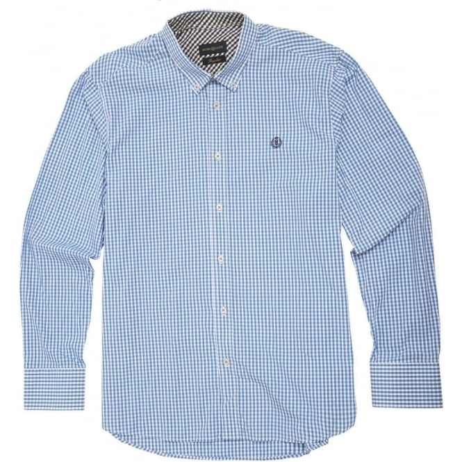 Henri Lloyd Levick Gingham Check Shirt, Blue