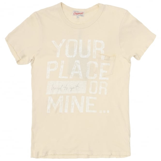 Junk Food Your Place or Mine T-Shirt