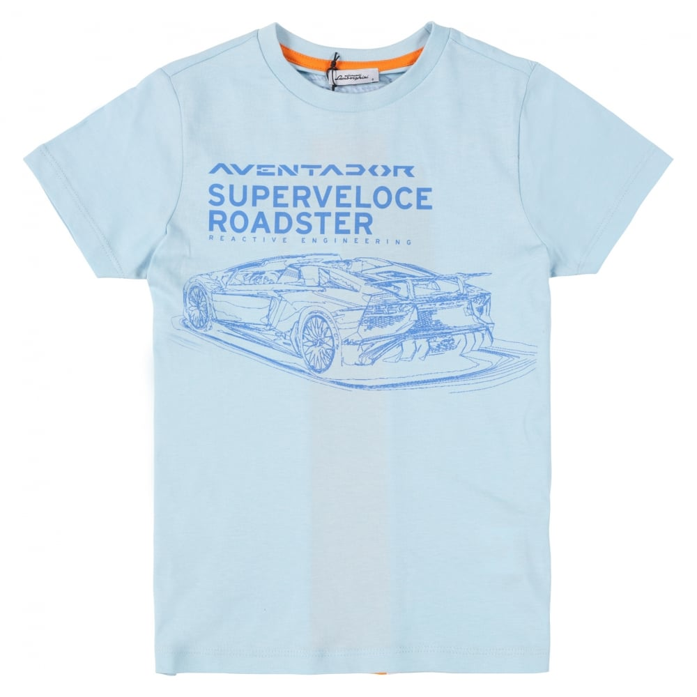 Nice Automobili Lamborghini Aventador SV Roadster T Shirt