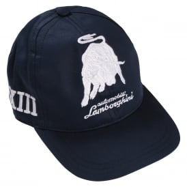 Automobili Lamborghini Boys Embroidered Cap