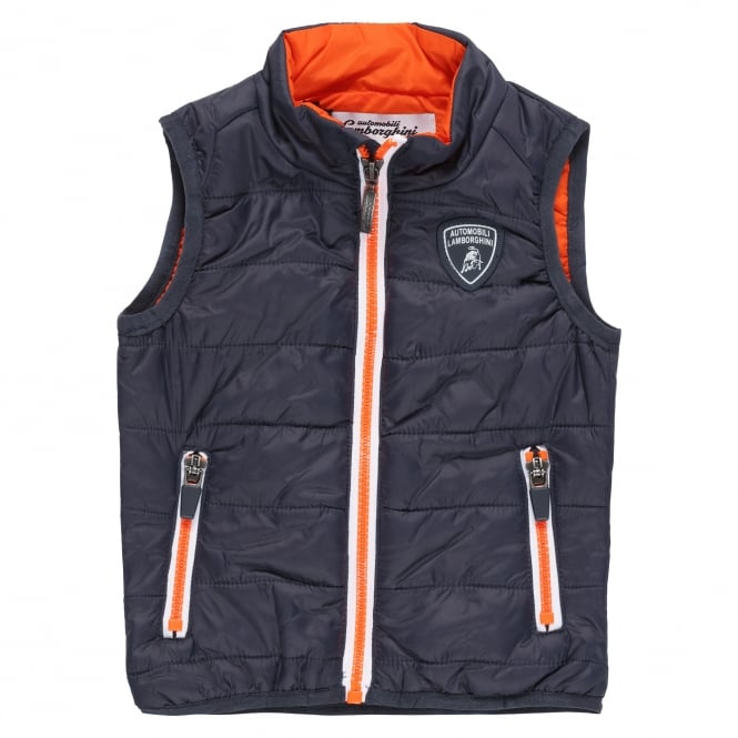 Lamborghini Kids Automobili Lamborghini Toddler Ultralight Down Vest