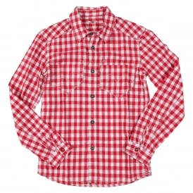 Guys Shirt Red Check