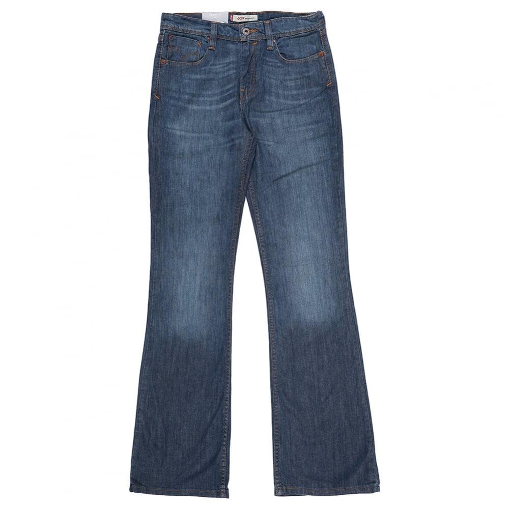 levis high waist bootcut 629 jeans fussy nation. Black Bedroom Furniture Sets. Home Design Ideas