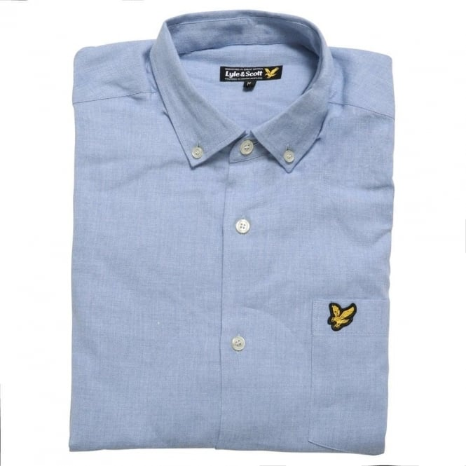 Lyle and Scott Marl Shirt, Blue