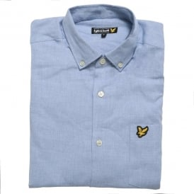 Marl Shirt, Blue