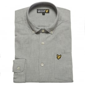 Marl Shirt, Grey