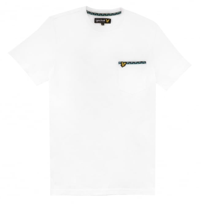 Lyle and Scott Short Sleeve Crew Neck Fairisle T-Shirt