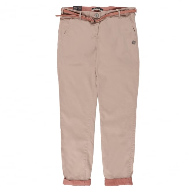 Maison Scotch Womens Belted Chino Pants