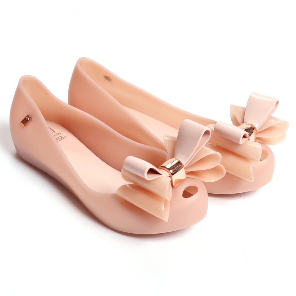 40bb334cdfaa Mini Melissa Ultragirl Triple Bow TS Shoes