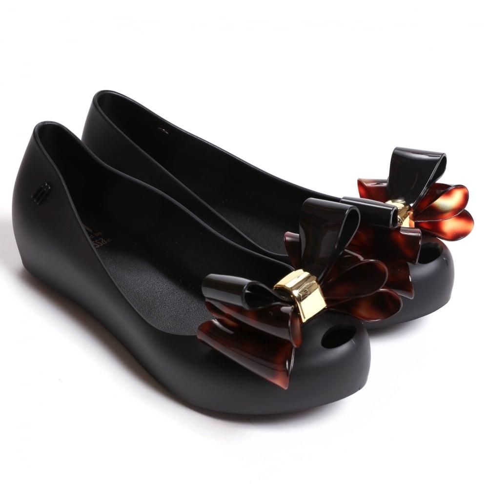 df490b6973c Mini Melissa Ultragirl Triple Bow TS Shoes | Fussynation.com