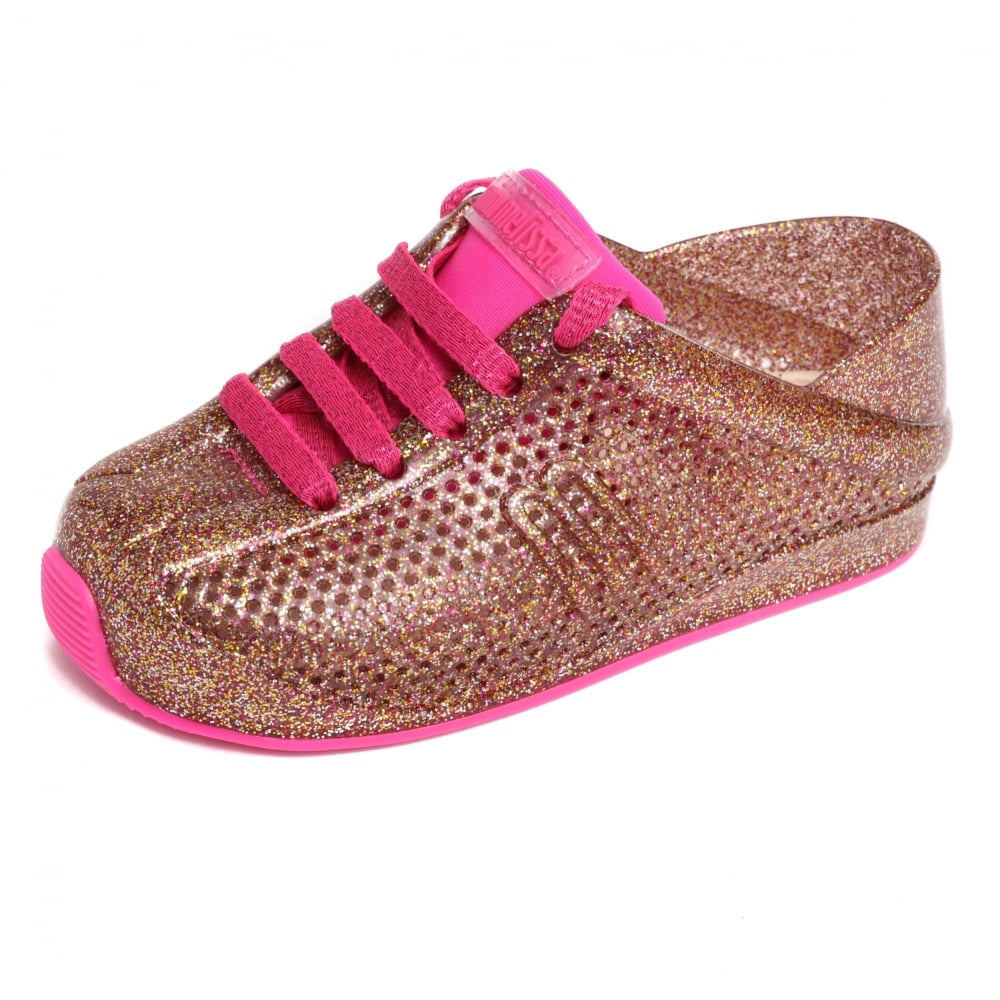 Melissa Shoes Mini Melissa Love System 18 21 Pink Glitter g3zYAUVs3