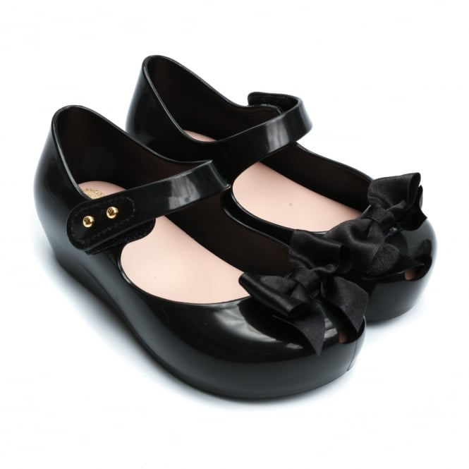 Melissa Shoes Mini Ultragirl Silk Bow