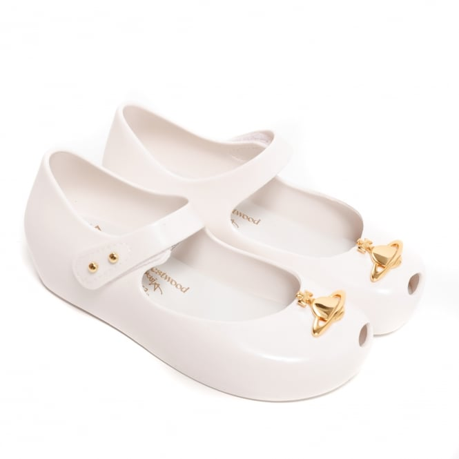 Melissa Shoes Mini VW Ultragirl 19,White Orb