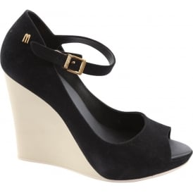 Prism 2 Wedge, Black Flock Contrast