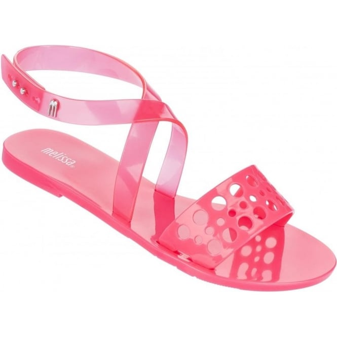 Melissa Shoes Tasty Sandal, Pink Neon A