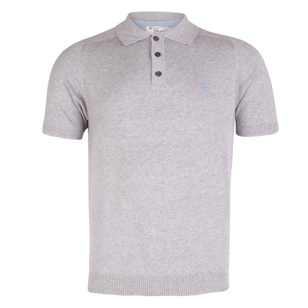 bb0a4bdd5 Original Penguin Short Sleeve Fine knit Polo Shirt