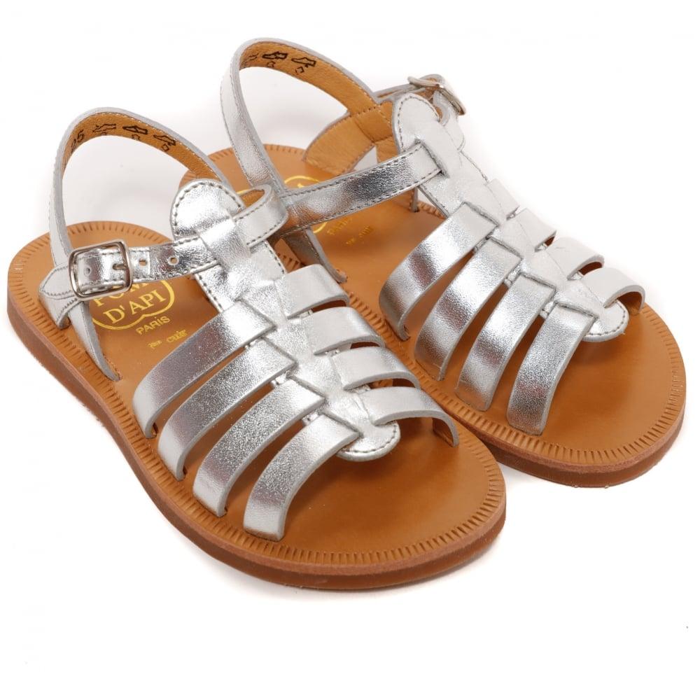 69bec4a2eab6 Pom D Api Plagette Strap Sandal