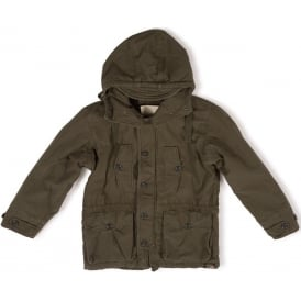 Engineered Winter Parka Coat