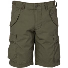 Mens Cargo Shorts, Army Olive