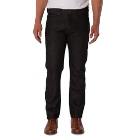 Mens Slim Fit Black Rinse Jean