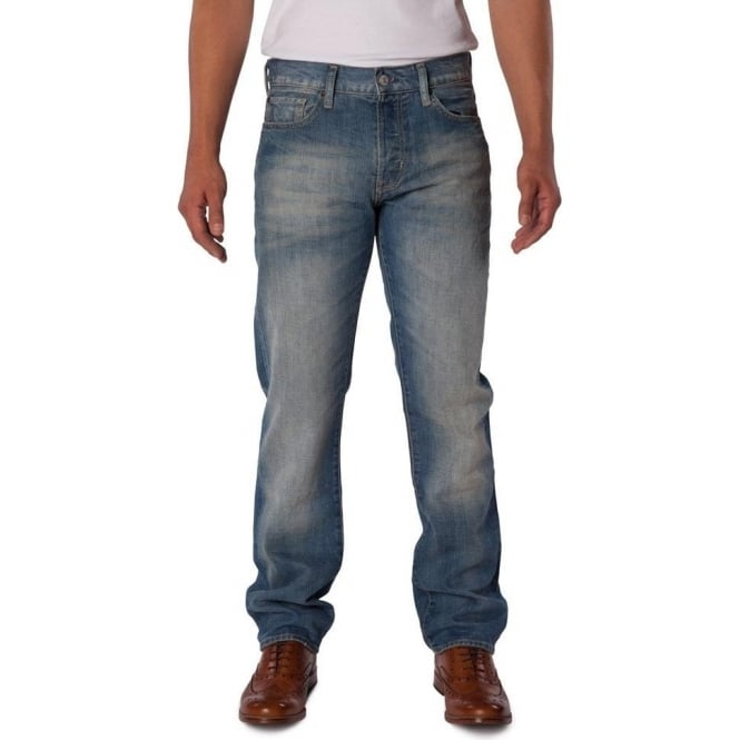 Ralph Lauren - Denim & Supply Mens Straight Fit Chaparral Rinse Jean